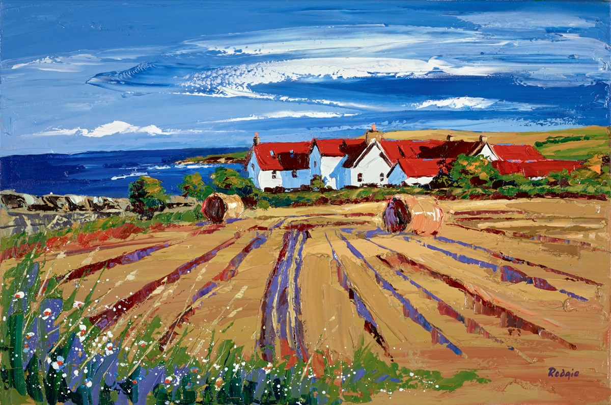 Autumn Harvest, St Abbs by lynn rodgie -  sized 30x20 inches. Available from Whitewall Galleries